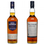 Royal Lochnagar and Talisker Triple Matured