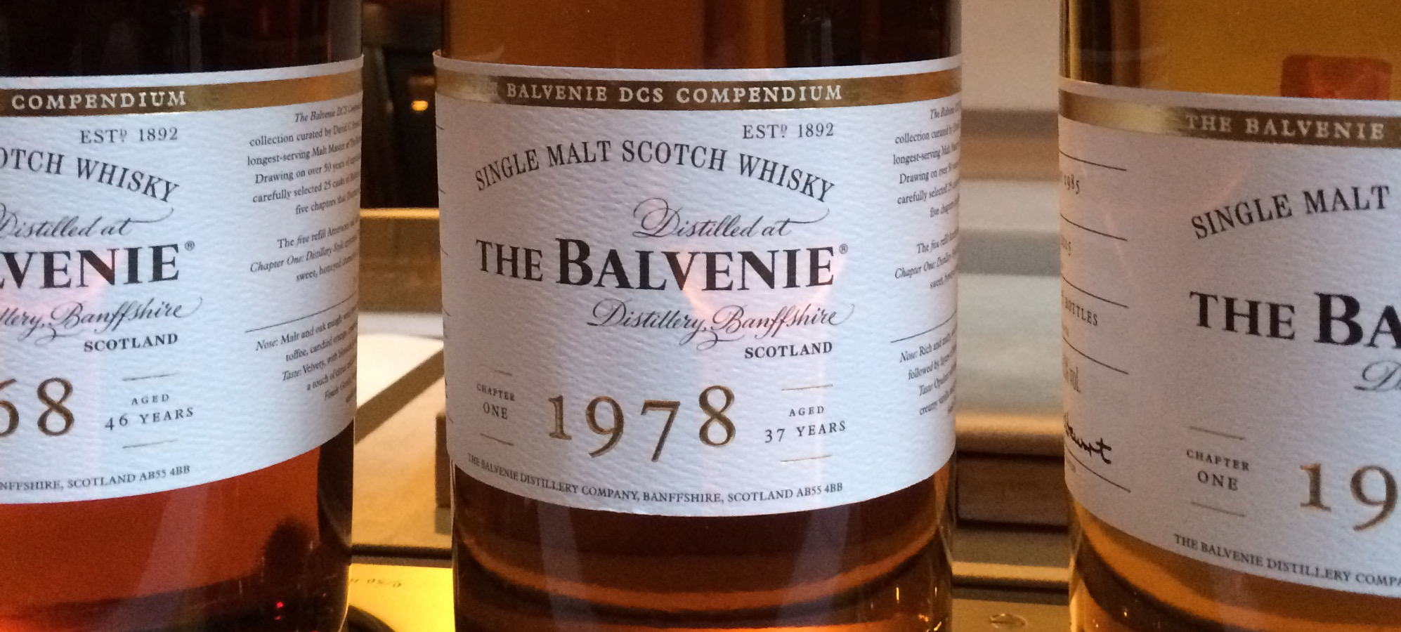 Balvenie 1978 DCS Compendium Chapter One