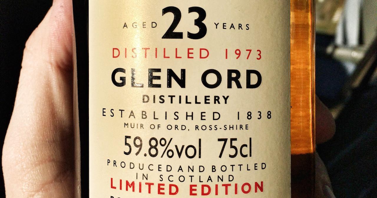 Glen Ord 1973