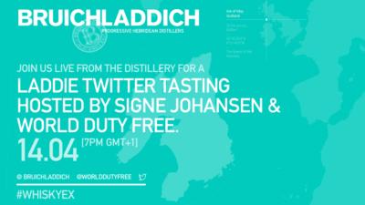 Bruichladdich #WhiskyEx Twitter Tasting