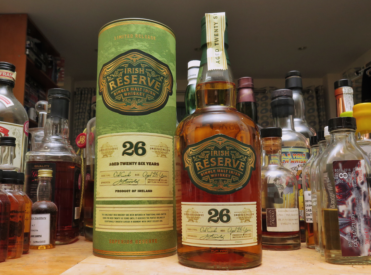 Aldi Irish Reserve 26 Year Old Single Malt Whiskey