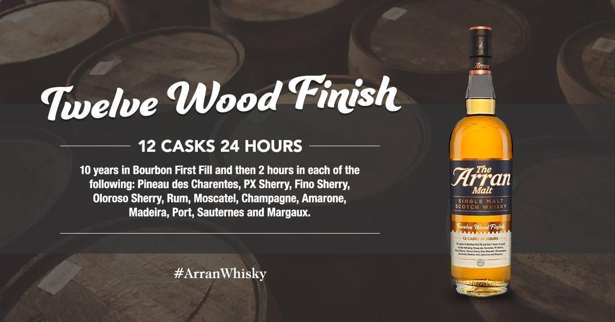 Arran 12 wood
