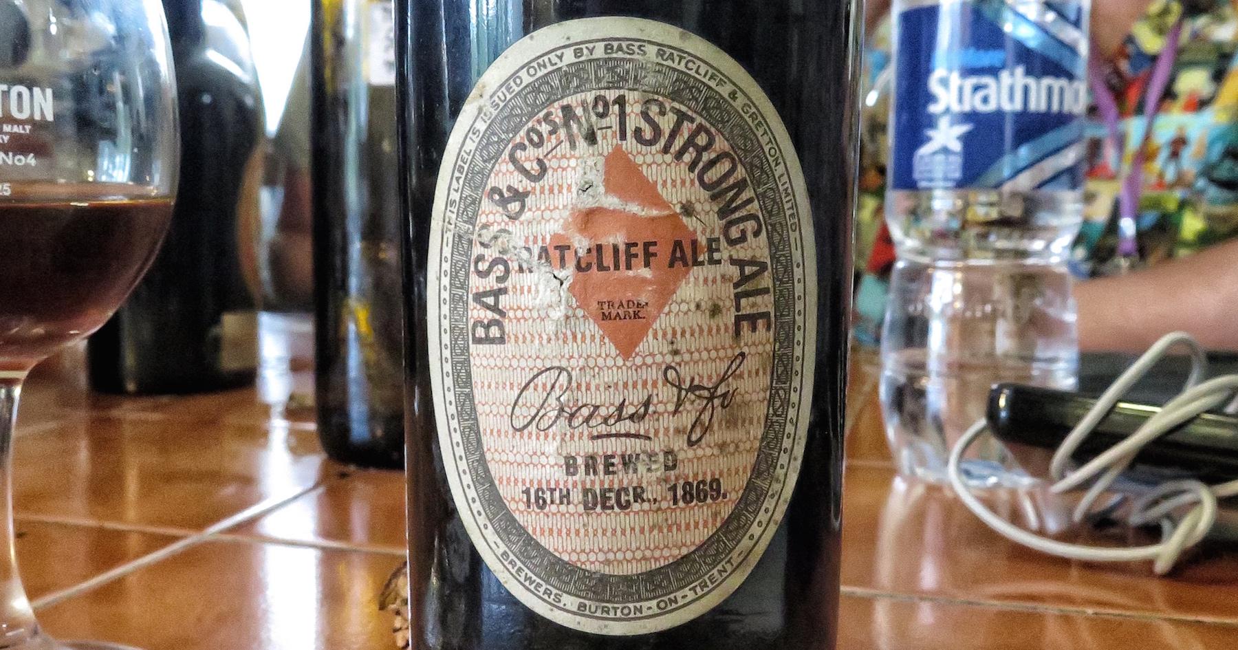 Bass Ratcliff Ale 1869
